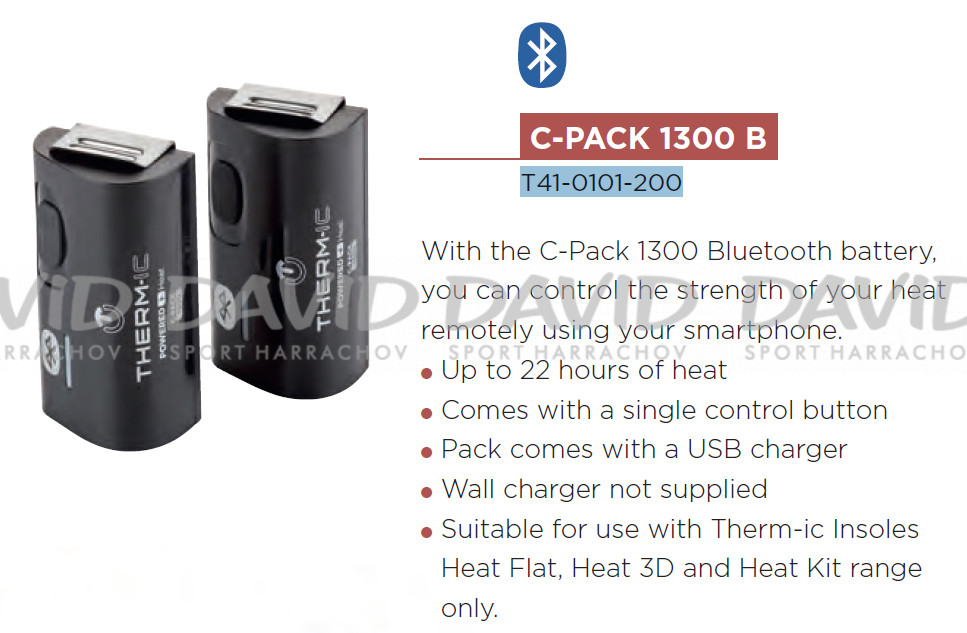 detail Baterie THERMIC C-PACK 1300 B