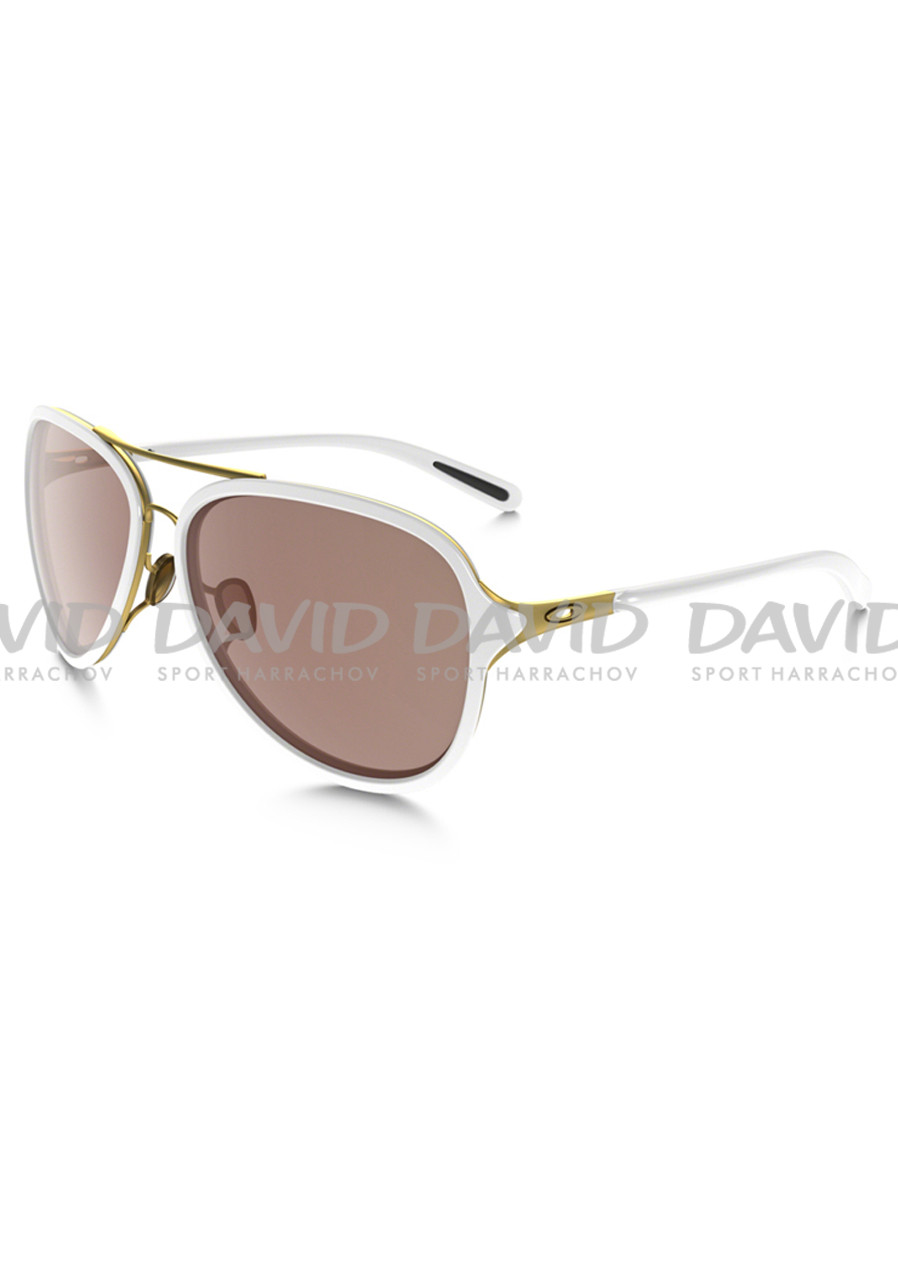Oakley 4102-06 Kickback Satin Gold/white/VR28