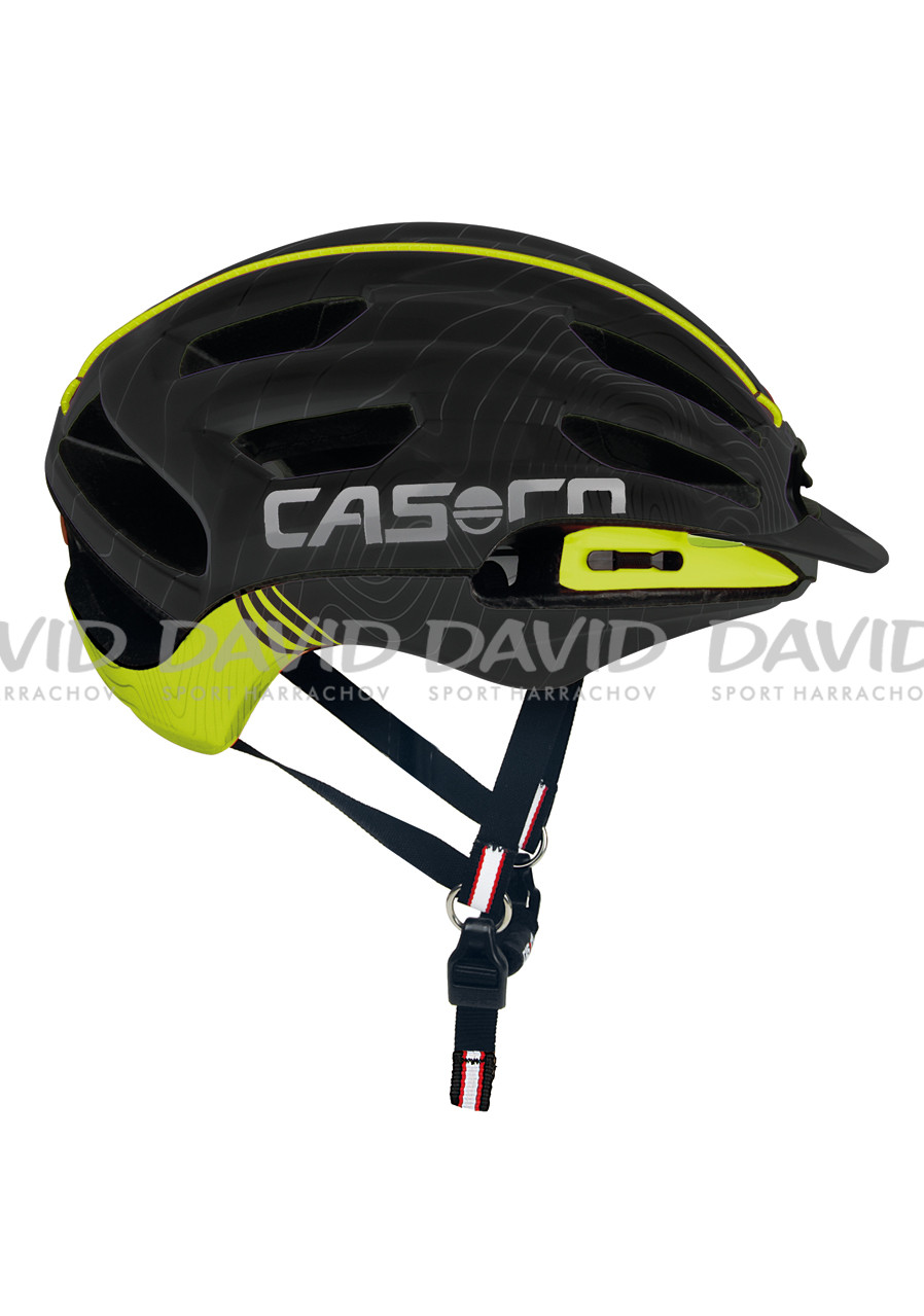 Helma na kolo Casco FULL AIR RCC Blk-neonyellow