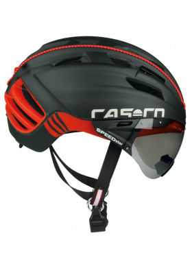 Cyklistická helma CASCO SPEEDSTER PLUS BLACK-RED
