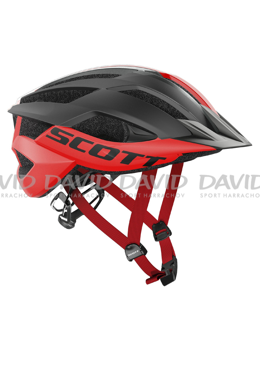 SCOTT 17 HELMET ARX MTB PLUS (CE) RED/BLACK