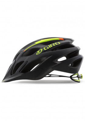 Cyklo helma Giro Phase Mat Black/Lime /Flame