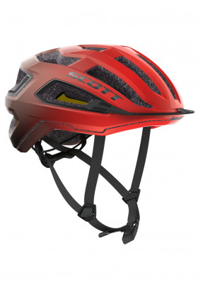 Cyklistická helma Scott Helmet Arx Plus (CE) Fiery Red