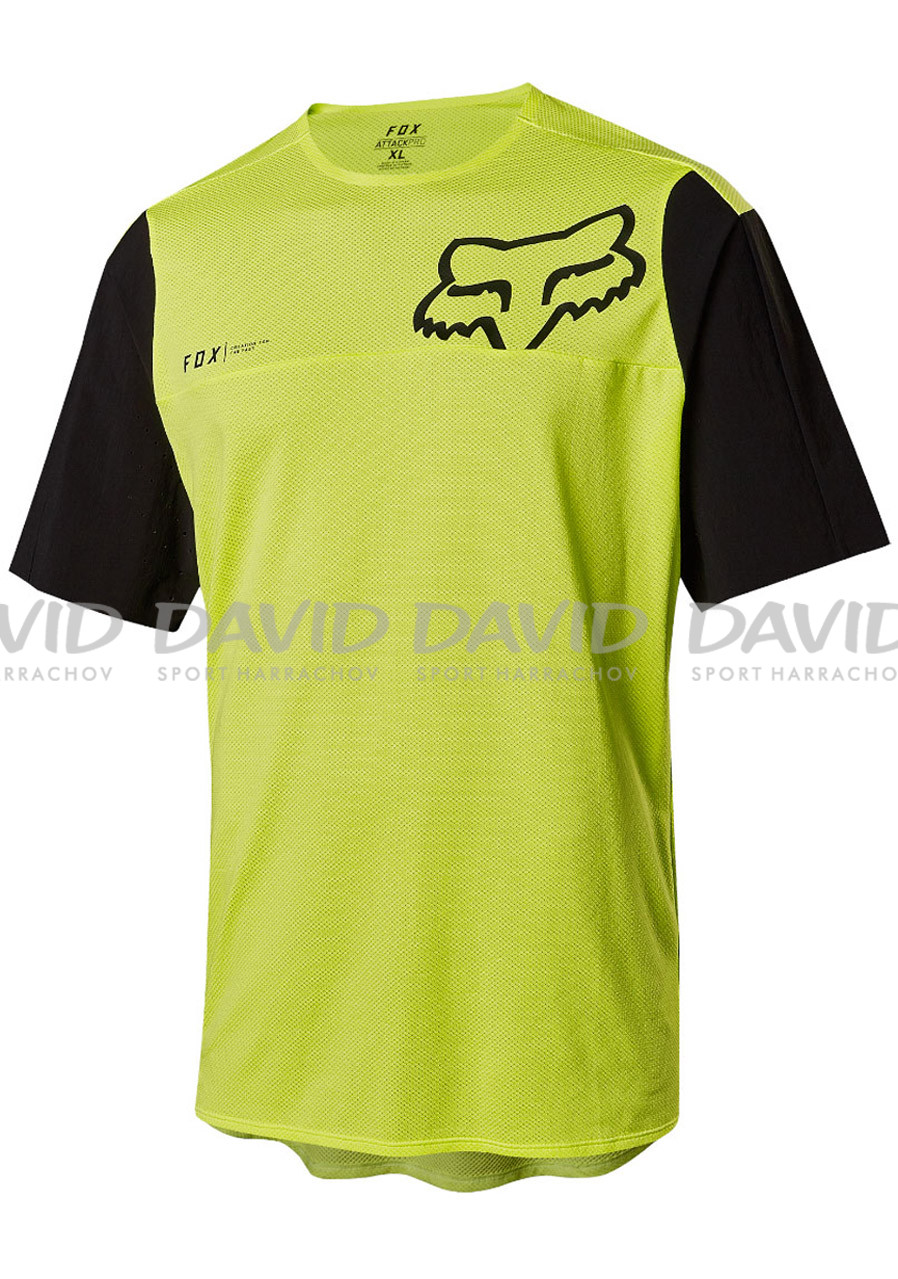 Fox Attack Pro SS Jersey Yellow/Black
