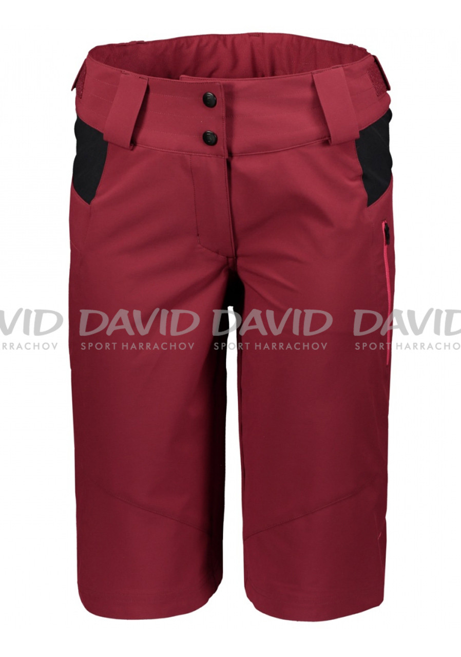Dámské cyklokraťasy Scott Shorts W's Trail 20 ls/fit w/pad tibetan red