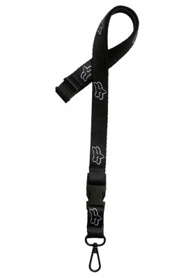 Klíčenka Fox Head Aircraft Lanyard Black