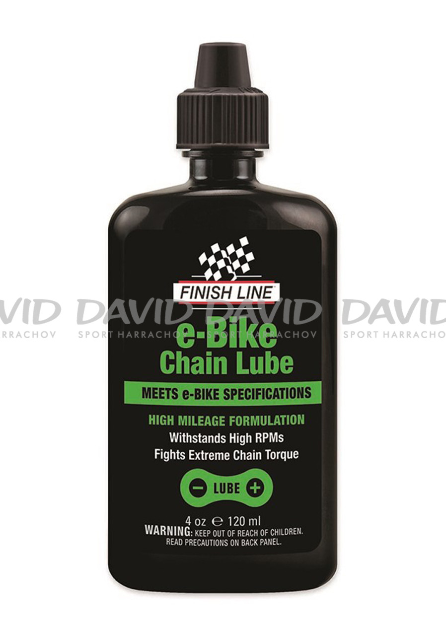 Finish Line E-Bike Chain Lube 4oz/120ml-kapátko