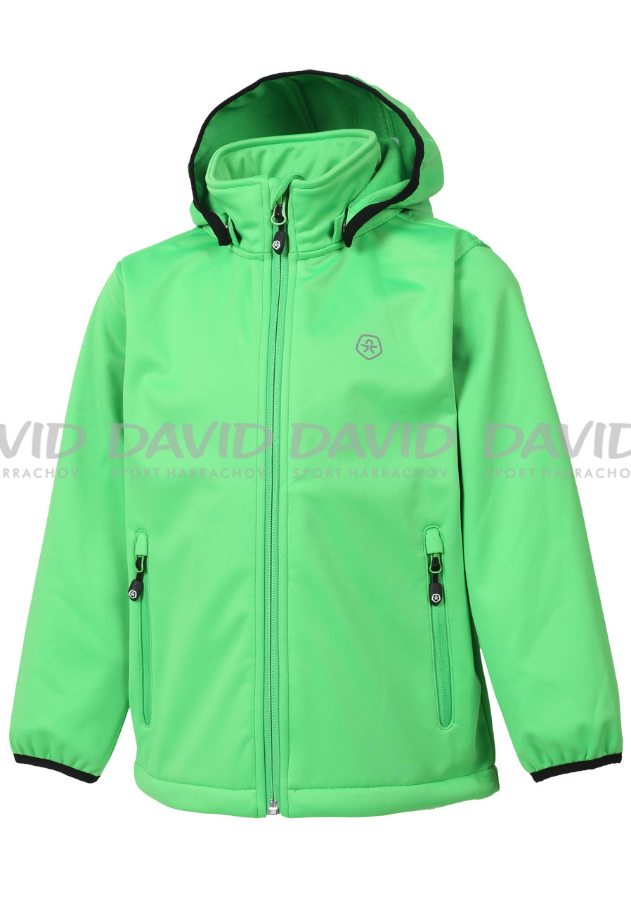 Color Kids Ralado softshell Toucan Green