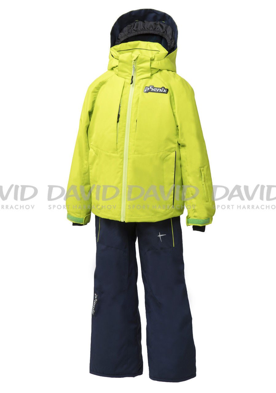 PHENIX ES7G22P80 NORWAY ALPINE SUITS LIME