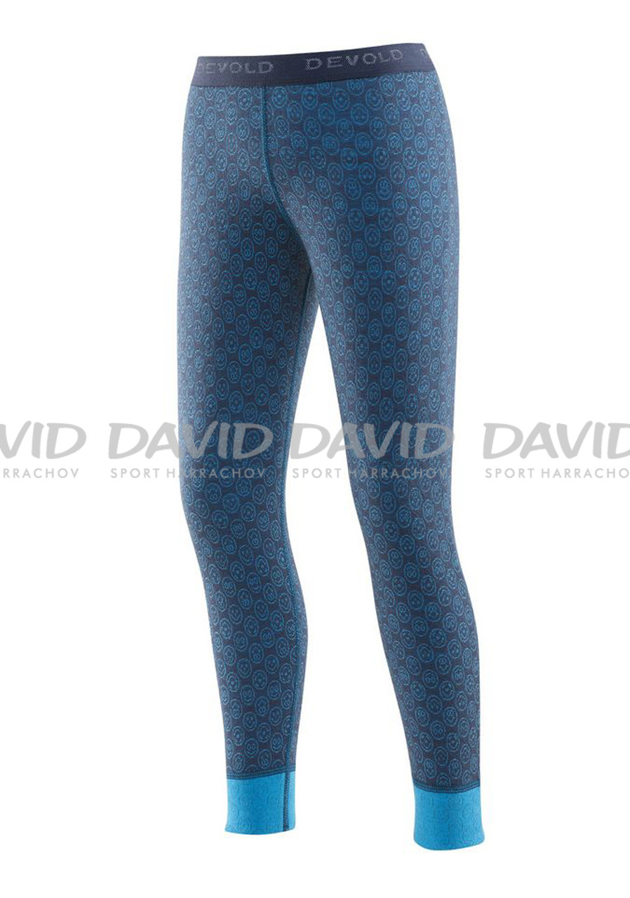 detail DEVOLD ACTIVE HAPPY FACE KID LONG JOHNS