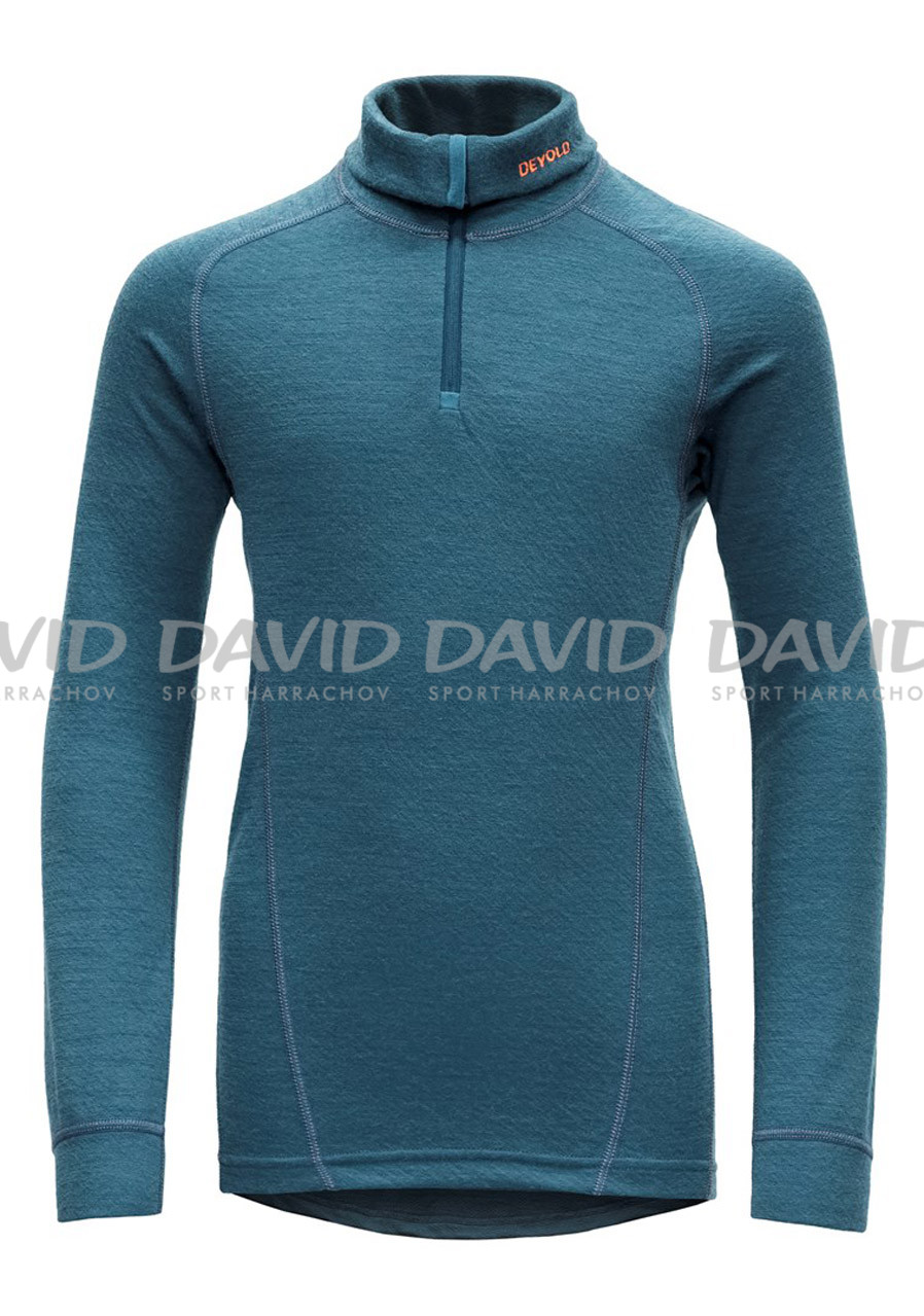 Devold Active Junior Zip Neck