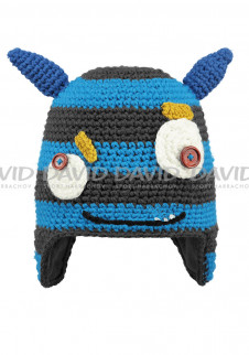 a78dba6169c detail Dětská pletená čepice Barts Monster modrá