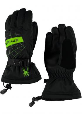 Dětské rukavice Spyder Overweb glove 018 b9a25efe0a