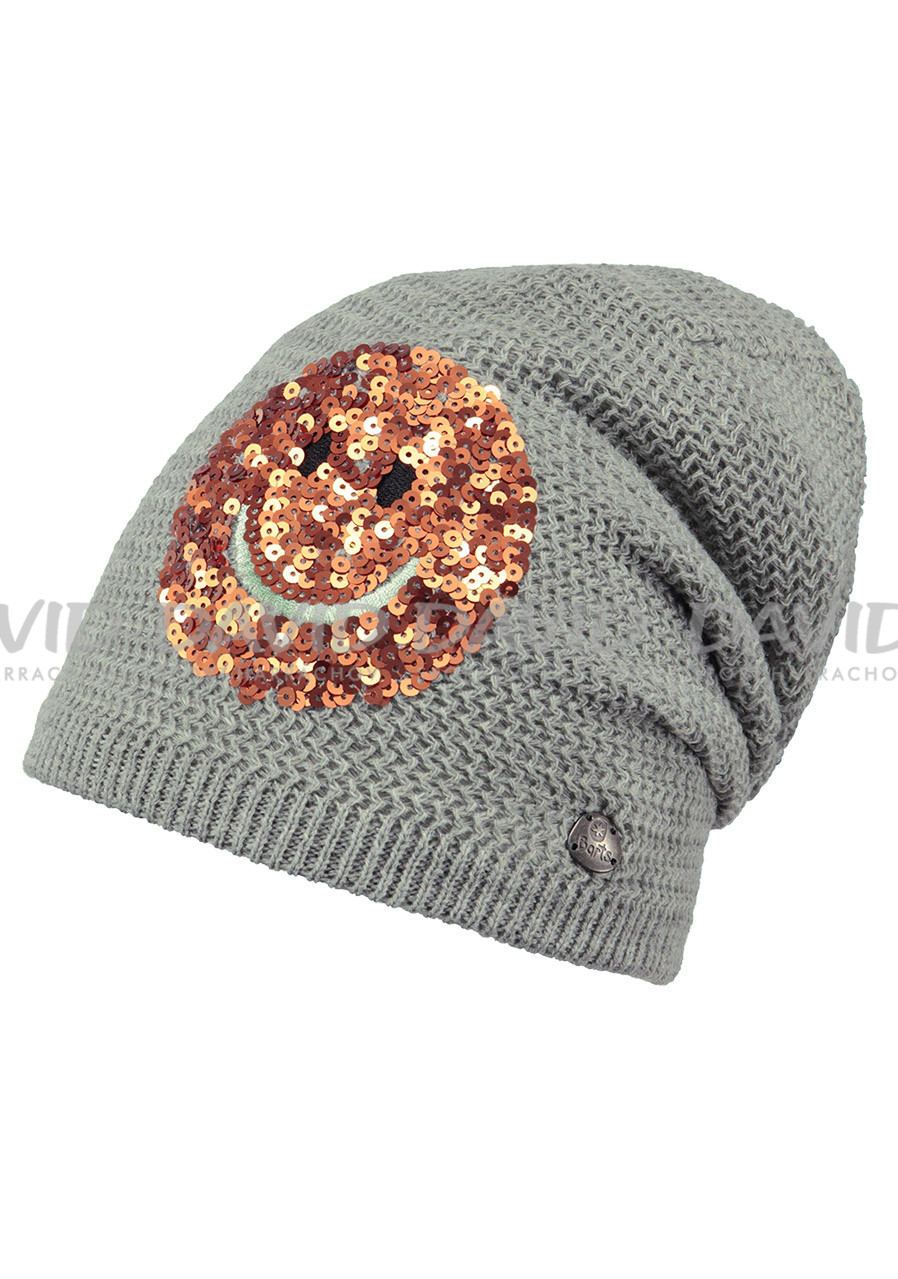 BARTS FABLE BEANIE HEATHER GREY