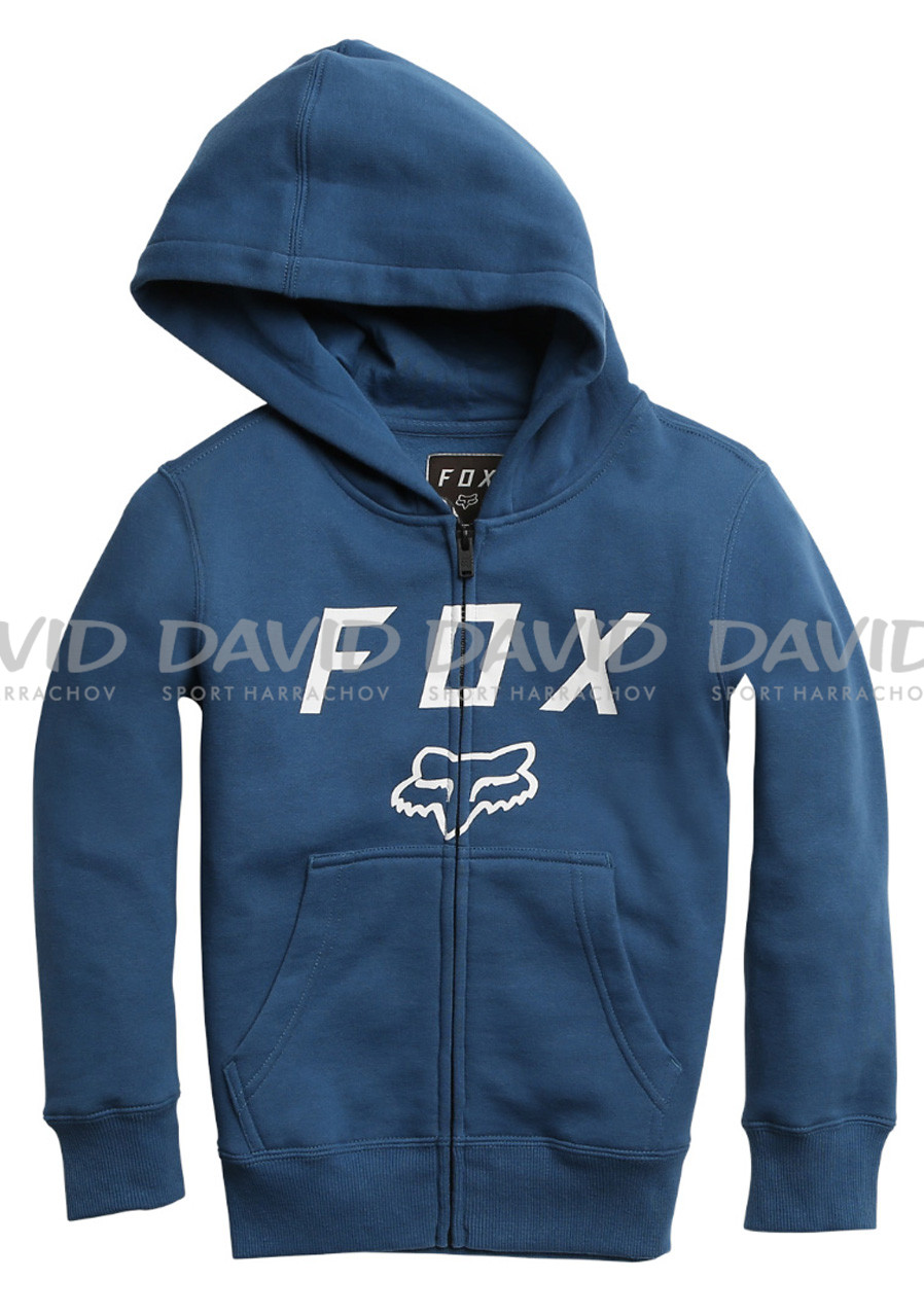 Dětská mikina Fox Youth Legacy Moth Zip Fleece Dusty Blue
