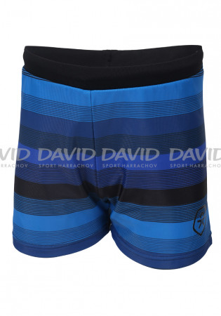 detail Chlapecké plavky Color Kids Erland swim trunks AOP 40+ Black