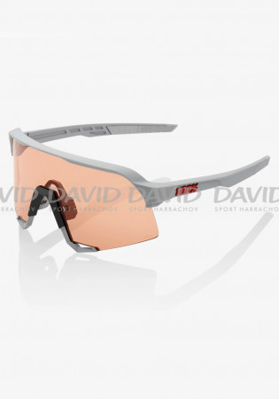 detail 100% S3 - Soft Tact Stone Grey-Hiper Coral Lens