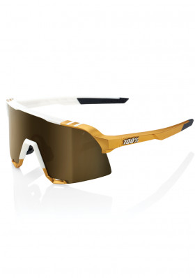 Peter Sagan 100% S3 LE White Gold - Soft Gold Mirror