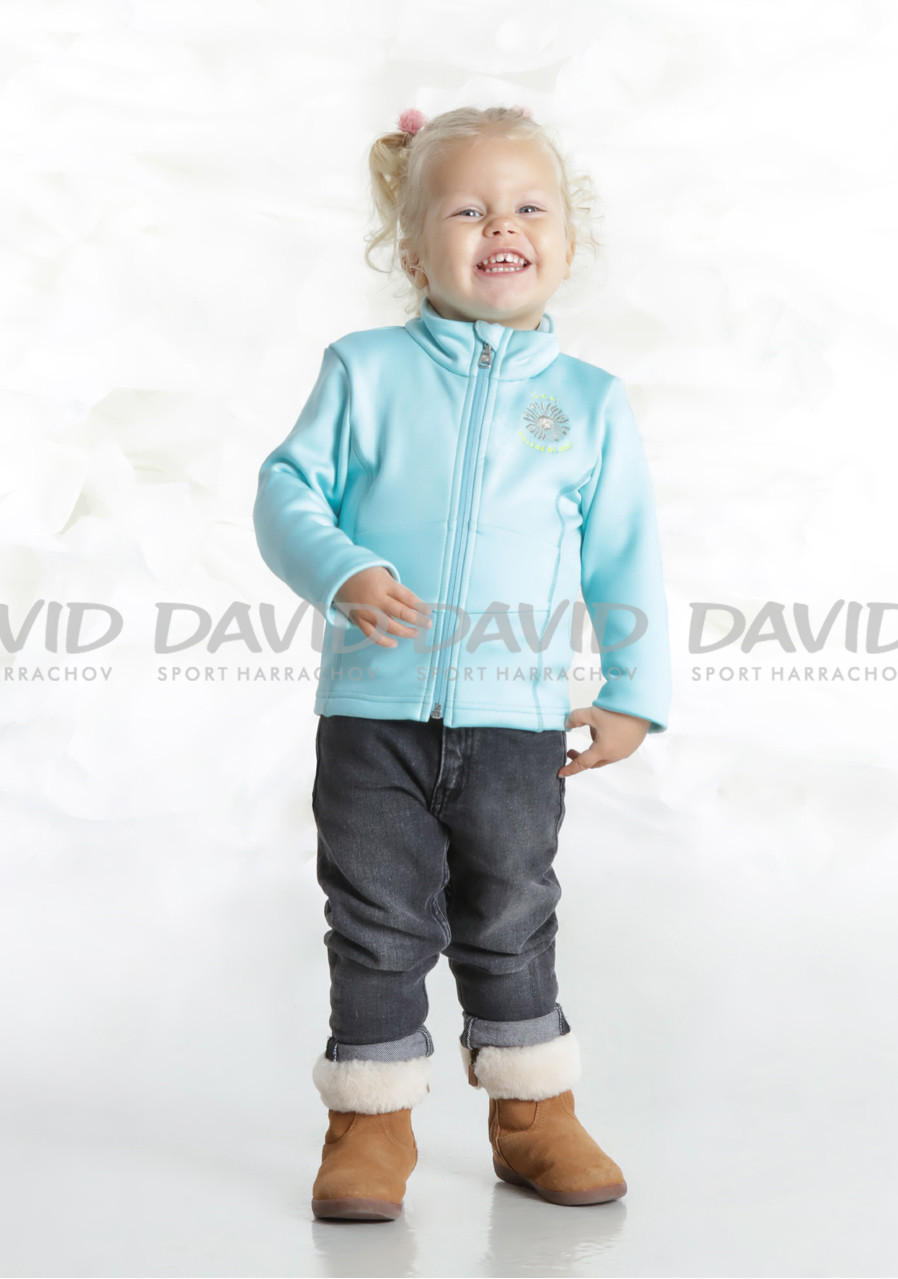 Dětská mikina Poivre Blanc W18-1700-BBGL Stretch Fleece Jacket dream blue