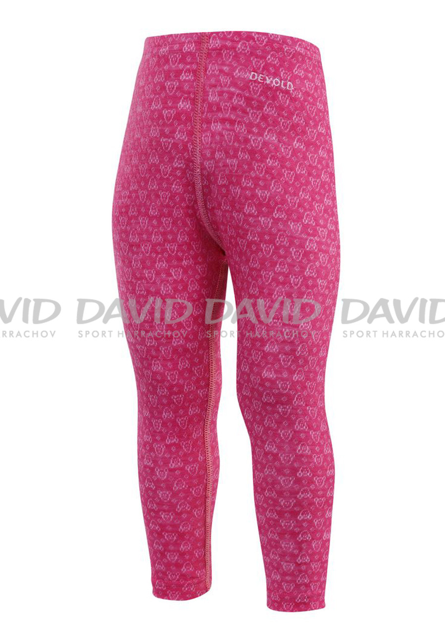 DEVOLD ACTIVE BABY LONG JOHNS CERISE