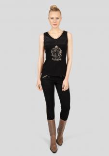 detail Dámské tričko Sportalm Avean černé 4e60165512